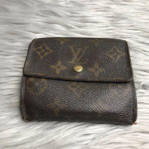 AUTH Louis Vuitton Elise Wallet TH0957